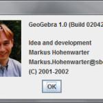 GeoGebra 1.0 - Om