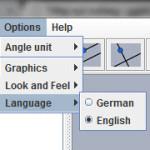 GeoGebra 1.0 - Sprog